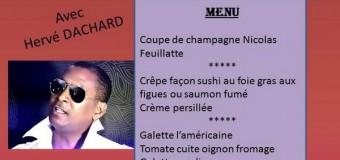 SOIRÉE DANSANTE SAINT VALENTIN AVEC HERVE DACHARD